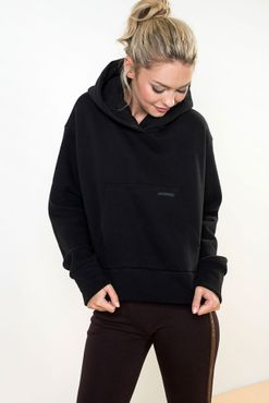 Sweatshirt Shortie Black