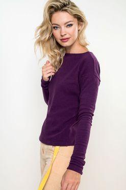 T-Shirt Purple Steep